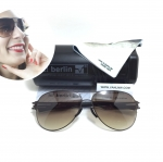 แว่นกันแดด ic berlin model M0132 aubergine 61-14 <น้ำตาลเฟด>
