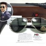 แว่นกันแดด ao skymaster aviator (china) เงินเงา 59-14