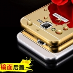 (025-038)เคสมือถือซัมซุง Case Samsung Galaxy On5 เฟรมโลหะพื้นหลังอะคริลิคพลาสติกทอง 24K