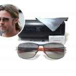 แว่นกันแดด ic berlin model maja peral 62-15 <เงิน>