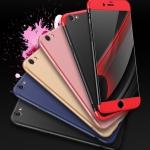 (025-922)เคสมือถือไอโฟน Case iPhone 6/6S เคสคลุมรอบป้องกันขอบด้านบนและด้านล่างสีสันสดใส