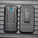 (002-200)เคสมือถือ HTC Desire 526G เคสกันกระแทกแบบเหน็บเอวกับเข็มขัด