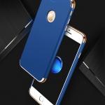 (025-961)เคสมือถือไอโฟน Case iPhone 7 Plus/8 Plus เคสพลาสติกสีสดใสขอบแววสไตล์แฟชั่น