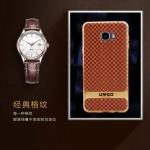 (395-050)เคสมือถือซัมซุง Case Samsung Galaxy C7 เคสนิ่มสไตล์คลาสสิคขอบชุบแวว
