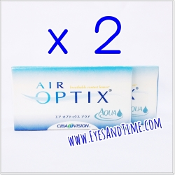 Air Optix Aqua ซื้อ 2 กล่อง กล่องละ 530 บาท