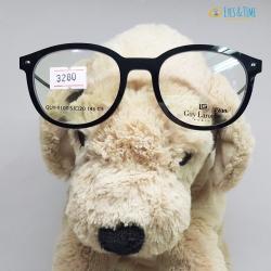 กรอบแว่นตา Guy Laroche ทรงหยดน้ำ รุ่น GUY-9100 ของแท้ ยืดหยุ่นสูง ขากางได้เยอะมาก ขอบใหญ่