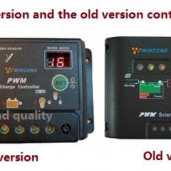 (Wincong) โซล่า ชาร์จเจอร์ Solar Charger 10A 12V 24V Auto switch