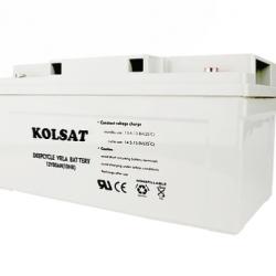 แบตเตอรี่ Deep Cycle Kolsat Nano GEL 80Ah 12V