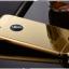 (025-1100)เคสมือถือไอโฟน case iphone 5/5s/SE เคสกรอบบัมเปอร์โลหะฝาหลังอะคริลิคแววกึ่งกระจก thumbnail 4