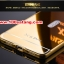 (025-138)เคสมือถือวีโว Vivo X5 Pro เคสกรอบโลหะพื้นหลังอะคริลิคเคลือบเงาทองคำ 24K thumbnail 5
