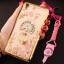 (025-211)เคสมือถือ Case OPPO F1 Plus (R9) เคสนิ่มใสขอบชุบลายดอกไม้ประดับแหวนโลหะ thumbnail 4
