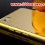 (025-155)เคสมือถือ Case Huawei P8 Lite เคสกรอบโลหะพื้นหลังอะคริลิคเคลือบเงาทองคำ 24K thumbnail 5