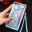 (549-001)เคสมือถือ Case Huawei P8 Lite เคสพลาสติกใส Glitter ทรายดูดหัวใจ thumbnail 11