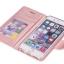 (พร้อมส่ง)เคสมือถือไอโฟน case iphone 6Plus/6S Plus เคสนิ่มฝาพับสไตล์สมุดเปิดข้างลายผ้าไหม thumbnail 7