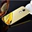 (417-001)เคสมือถือ Case Huawei G7 Plus เคสกรอบโลหะพื้นหลังอะคริลิคเคลือบเงาทอง 24K thumbnail 10