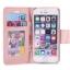 (พร้อมส่ง)เคสมือถือไอโฟน case iphone 6Plus/6S Plus เคสนิ่มฝาพับสไตล์สมุดเปิดข้างลายผ้าไหม thumbnail 4