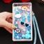 (549-001)เคสมือถือ Case Huawei P8 Lite เคสพลาสติกใส Glitter ทรายดูดหัวใจ thumbnail 3