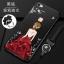 (587-031)เคสมือถือวีโว Vivo X6 Plus เคสนิ่มแฟชั่นลายผู้หญิงขอบเพชร thumbnail 6