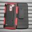 (002-128)เคสมือถือ Case LG G3 STYLUS เคสนิ่ม+พื้นหลังประกบแบบพลาสติก+มีขาตั้ง+ที่เหน็บเอวสไตล์กันกระแทก thumbnail 7