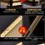 (025-155)เคสมือถือ Case Huawei P8 Lite เคสกรอบโลหะพื้นหลังอะคริลิคเคลือบเงาทองคำ 24K thumbnail 2