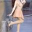 ถุงน่องขาเรียว Slimleg กล่องชมพู - แบบหุ้มเท้า Freesize สีเนื้อ No.04 สำหรับสาวผิวขาว