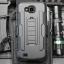 (002-212)เคสมือถือ Case LG X Venture/LV9 เคสนิ่ม+พื้นหลังประกบแบบพลาสติก+มีขาตั้ง+ที่เหน็บเอวสไตล์กันกระแทก thumbnail 1