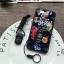 (674-019)เคสมือถือไอโฟน Case iPhone 7 Plus/8 Plus เคสนิ่มลายดอกไม้พื้นหลังแววๆ thumbnail 3