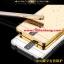 (025-159)เคสมือถือ Case OPPO R3 เคสกรอบโลหะพื้นหลังอะคริลิคเคลือบเงาทองคำ 24K thumbnail 1