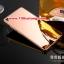 (025-153)เคสมือถือ Case Huawei P8 เคสกรอบโลหะพื้นหลังอะคริลิคเคลือบเงาทองคำ 24K thumbnail 9