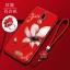 (026-012)เคสโทรศัพท์มือถือ Case Huawei Nova 2i/Mate10Lite เคสนิ่มขอบเพชรลายดอกไม้ thumbnail 4