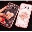 (025-1145)เคสมือถือซัมซุง Case Samsung Galaxy S7 เคสนิ่มซิลิโคนใสลายหรูประดับคริสตัล พร้อมแหวนเพชรมือถือตั้งโทรศัพท์ thumbnail 3