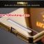 (025-137)เคสมือถือวีโว Vivo X5Max เคสกรอบโลหะพื้นหลังอะคริลิคเคลือบเงาทองคำ 24K thumbnail 7