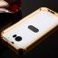 (025-075)เคสมือถือ HTC M8 เคสกรอบโลหะพื้นหลังอะคริลิคแวววับคล้ายกระจกสวยหรู thumbnail 8