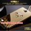 (025-151)เคสมือถือ Case Huawei Honor 3C เคสกรอบโลหะพื้นหลังอะคริลิคเคลือบเงาทองคำ 24K thumbnail 4