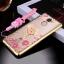 (025-543)เคสมือถือ Case Huawei Y7prime เคสนิ่มซิลิโคนใสลายหรูติดคริสตัล พร้อมแหวนเพชรวางโทรศัพท์ และสายคล้องคอกดแยกออกได้ thumbnail 3