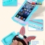 (พร้อมส่ง)เคสมือถือไอโฟน 4/4s Case iPhone เคสนิ่ม Monchhichi กระต่าย thumbnail 3