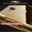 (025-151)เคสมือถือ Case Huawei Honor 3C เคสกรอบโลหะพื้นหลังอะคริลิคเคลือบเงาทองคำ 24K thumbnail 5