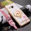 (587-002)เคสมือถือวีโว Vivo Xshot เคสนิ่มลายดอกขอบแววพื้นหลังแหวนโลหะคริสตัลสวยๆ thumbnail 6