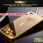 (025-138)เคสมือถือวีโว Vivo X5 Pro เคสกรอบโลหะพื้นหลังอะคริลิคเคลือบเงาทองคำ 24K thumbnail 3