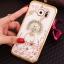 (025-1145)เคสมือถือซัมซุง Case Samsung Galaxy S7 เคสนิ่มซิลิโคนใสลายหรูประดับคริสตัล พร้อมแหวนเพชรมือถือตั้งโทรศัพท์ thumbnail 14