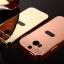 (025-075)เคสมือถือ HTC M8 เคสกรอบโลหะพื้นหลังอะคริลิคแวววับคล้ายกระจกสวยหรู thumbnail 3