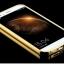 (417-001)เคสมือถือ Case Huawei G7 Plus เคสกรอบโลหะพื้นหลังอะคริลิคเคลือบเงาทอง 24K thumbnail 7
