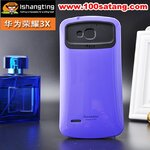 เคสมือถือ Case HUAWEI Honor 3X เคสนิ่มพื้นหลัง PC สีสดใสสไตล์ iface กันกระแทก แบบที่7