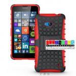 เคสมือถือ Microsoft Lumia 640 เคสรุ่นกันกระแทกขอบสี แบบที่3