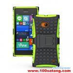 เคสมือถือ Microsoft Lumia 730 เคสพลาสติกกันกระแทกรุ่นขอบสี แบบที่6