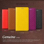 Verus : Slim Dairy Genuine Leather Case Cover For Galaxy Note 3, III, N9000, N9005