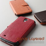 Verus : Dandy Layered Diary Leather Case Cover For Samsung Galaxy S4, i9500