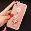 (025-979)เคสมือถือไอโฟน Case iPhone7/iPhone8 เคสนิ่มซิลิโคนใสลายหรูติดคริสตัล พร้อมแหวนเพชรวางโทรศัพท์ และสายคล้องคอถอดแยกสายได้ thumbnail 9