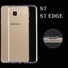(027-520)เคสมือถือซัมซุง Case Samsung Galaxy S7 เคสนิ่มใสพื้นหลังกันรอยนิ้วมือ
