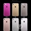 (436-131)เคสมือถือไอโฟน Case iPhone 7 เคสนิ่มใสบางเบาพื้นหลังกันรอยนิ้วมือ